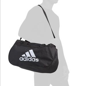Adidas Diablo Duffel Gym Bag Classic Black White